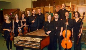 Ensemble Settecento following its first concert in October of 2011.